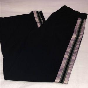 guess black flowy pants
